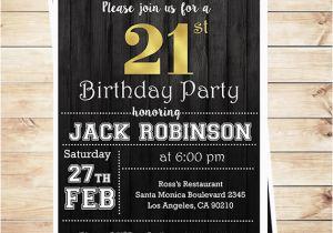 21st Birthday Invitations For Guys Lijicinu 98c350f9eba6