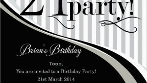21st Birthday Invitations Male 21st Birthday Invitation Templates Male Templates