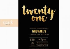 21st Birthday Invitations Male Www Imgkid Com The