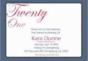 21st Birthday Invitations Templates 21st Birthday Invitations 365greetings Com