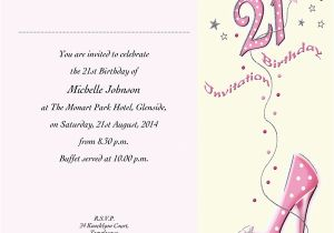 21st Birthday Invites Wording Invitation A Cake