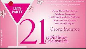 21st Birthday Invites Wording 21st Birthday Party Invitation Wording Wordings and Messages