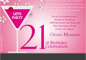 21st Birthday Invites Wording Party Invitation Wordings And Messages