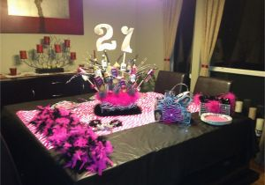 21st Birthday Party Decorations For Her Table Setup Planning