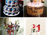 21st Birthday Party Decorations for Him Birthday Decorations Flower Vase by Girls Gone Food