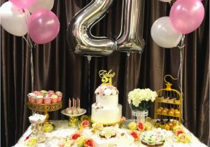 21st Birthday Table Decorations Nisartmacka Com