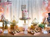 21st Birthday Table Decorations Kara 39 S Party Ideas Elegant 21st Birthday Party Kara 39 S