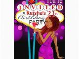 21st Birthday Vegas Invitations Las Vegas 21st Birthday Party Purple 5 Quot X 7 Quot Invitation