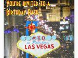 21st Birthday Vegas Invitations Las Vegas Party 30th Birthday Card Zazzle