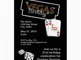 21st Birthday Vegas Invitations Vegas Lights 21st Birthday Party Invitation 5 Quot X 7