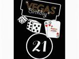21st Birthday Vegas Invitations Vegas Lights 21st Birthday Party Invitation Zazzle