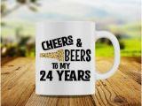 24th Birthday Presents for Him 24th Birthday Etsy