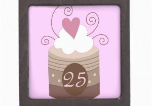 25 Birthday Gifts For Her 25th Gift Ideas Premium Keepsake Box Zazzle