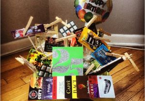 25th Birthday Gifts for Him Quot 25 Gifts Quot Gift Basket I Made for Kyle 39 S 25th Birthday