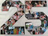 25th Birthday Ideas for Him 25th Anniversary Photo Collage Birthday Collage Wedding