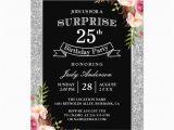 25th Birthday Invite Personalized 25th Birthday Invitations