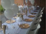 25th Birthday Party Decorations Gold and White Birthday Party Ideas Photo 1 Of 5 Catch