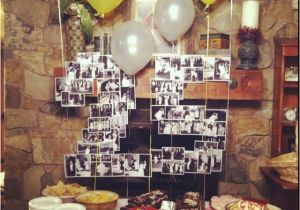 25th Birthday Party Decorations What A Good Idea To Do And Of All The Memories Made