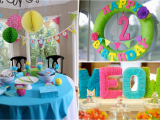 2nd Birthday Decorations at Home Kara 39 S Party Ideas Cat Kitty themed 2nd Birthday Party