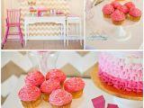 2nd Birthday Decorations at Home Kara 39 S Party Ideas Pinkalicious Storybook Pink Girl 2nd