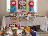 2nd Birthday Decorations at Home Kara 39 S Party Ideas Tickle Monster Second Birthday Party
