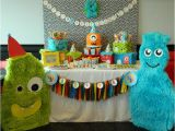 2nd Birthday Decorations for Boy Kara 39 S Party Ideas Monster Bash themed 2nd Birthday Party