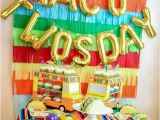 2nd Birthday Decorations for Boy Taco Twosday Letter Balloons Taco Twosday Party Decor Taco