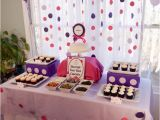 2nd Birthday Decorations Girl Cupcakes and Polka Dots 2nd Birthday Party Project Nursery