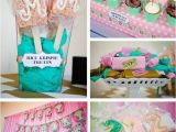 2nd Birthday Decorations Girl Kara 39 S Party Ideas Carousel Cupcake themed Birthday Party