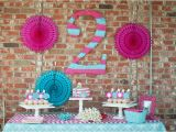 2nd Birthday Decorations Girl Kara 39 S Party Ideas Mermaid 2nd Birthday Party Kara 39 S