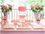 2nd Birthday Decorations Girl Ruffles and Roses Second Birthday Party Pizzazzerie