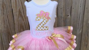 2nd Birthday Dresses Second Birthday Outfit Second Birthday Set by