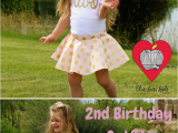 2nd Birthday Girl Outfits 2nd B Day Pink Twirl Skirt Birthday Outfits Birthdays