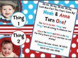 2nd Birthday Invitations for Twins Invitations Twin 39 S 1st Birthday Pinterest Birthdays