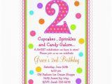 2nd Birthday Invite Wording 2nd Birthday Invitation Wording Party Ideas Pinterest