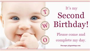 2nd Birthday Invite Wording 2nd Birthday Invitations and Wording 365greetings Com