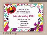 2nd Birthday Invite Wording Stylish 2nd Birthday Party Invitation Wording Elmo World