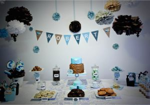 2nd Birthday Party Decorations Boy Bubble And Sweet Cookie Babychino