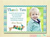 2nd Birthday Thank You Cards Matching Dog Birthday Thank You Card Diy Printable Thank You