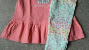2t Birthday Girl Outfit Size 2t 2 Years Outfit Gymboree Birthday Girl Peplum top