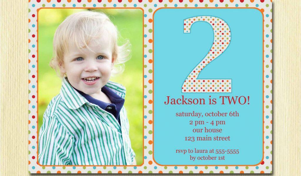 3 Year Old Boy Birthday Party Invitations 2
