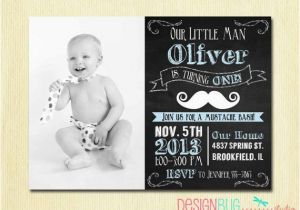 3 Year Old Boy Birthday Party Invitations Best 25 Mustache Invitations Ideas On Pinterest