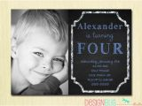 3 Year Old Boy Birthday Party Invitations Birthday Baby Boy Invitation 1 2 3 4 5 Year Old 1st