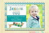 3 Year Old Boy Birthday Party Invitations Birthday Invitation for 3 Year Old Boy Happy Holidays