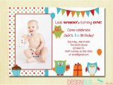 3 Year Old Boy Birthday Party Invitations Items Similar to Owl Birthday Boy Invitation First