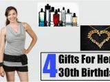 30 Birthday Gifts for Her Four Gifts for Her 30th Birthday 30th Birthday Gifts