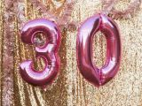 30 Birthday Party Decoration Ideas Kara 39 S Party Ideas Sparkly 30th Birthday Bash Kara 39 S