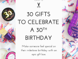 30 Gifts for 30th Birthday for Her 30 Gifts for 30th Birthday Modish Main