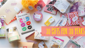 30 Small Gifts For 30th Birthday Her