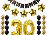 30 Year Old Birthday Decorations Zljq 30th Birthday Party Decoration Sets Happy Birthday